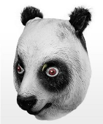 Maska lateksowa - Panda