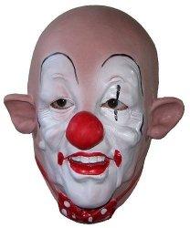 Maska lateksowa - Klaun