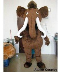 Chodząca maskotka - Mamut