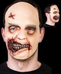 Maska lateksowa - The Wakling Dead Zombie Girl
