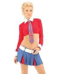 Seksowny kostium - Angielska uczennica