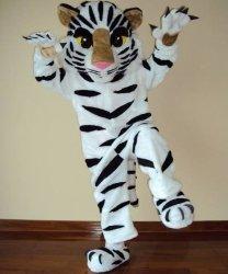 Strój chodzącej maskotki - Tygrys Biały