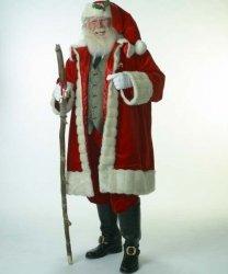 Profesjonalny strój Świętego Mikołaja - Św. Mikołaj Premium VII