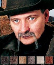 Naturalne wąsy - Cowboy