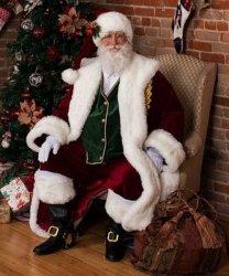 Profesjonalny strój Świętego Mikołaja - Św. Mikołaj Premium XIV