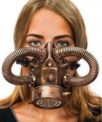 Maska - Steampunk Gas