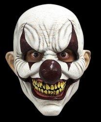 Maska lateksowa - Horror Klaun Diabolic