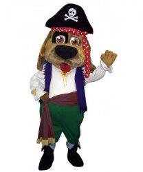 Strój chodzącej maskotki - Pies Pirat