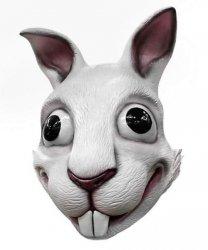 Maska lateksowa - Zając