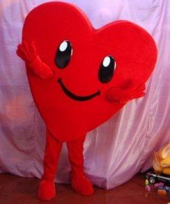 Strój reklamowy - Serce I