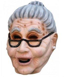 Maska lateksowa - Babcia Bajeczka