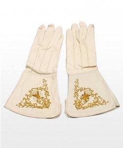 Rękawice - Konfederat Białe