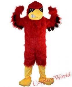 Chodząca żywa duża maskotka - Red Eeagle