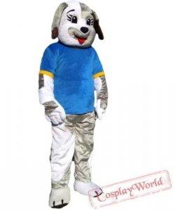 Strój chodzącej maskotki - Szczeniak Sportowiec
