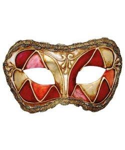Maska wenecka - Colombina Arlecchino II