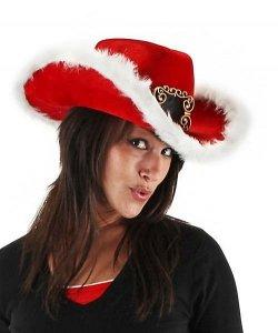 Kapelusz - Bożonarodzeniowy Cowboy