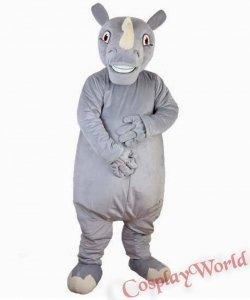 Chodząca żywa duża maskotka - Nosorożec