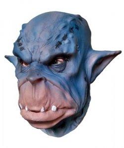 Maska lateksowa - Blue Ork