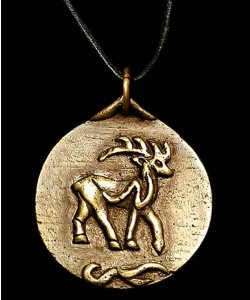 Medalion - Rudolf Świętego Mikołaja