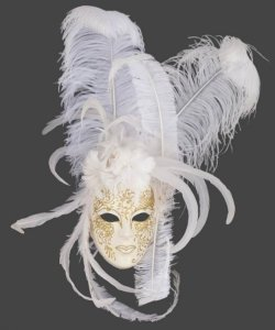 Maska wenecka - Ermia