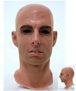 Maska lateksowa - Tom Cruise