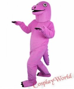 Chodząca żywa duża maskotka - Dinozaur Pinky