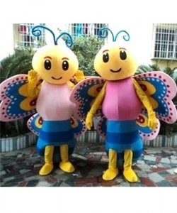 Chodzące maskotki - Para Motylków