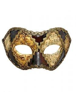 Maska wenecka - Colombina Scacchi V