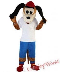 Chodząca żywa duża maskotka - Pies Zawodnik