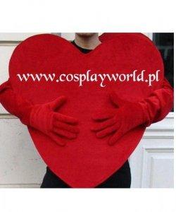 Chodząca maskotka - Małe Walentynkowe Serce