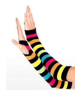 Rękawiczki - Neon Rainbow Clown