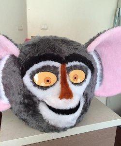 Głowa chodzącej maskotki - Małpa 2