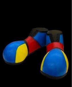 Buty klauna - Color