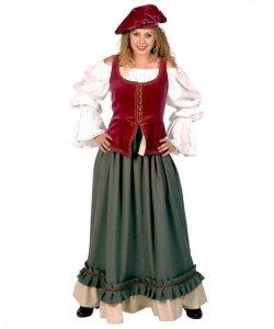 Kostium teatralny - Żona Mieszczucha