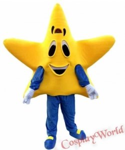 Chodząca żywa duża maskotka - Gwiazda