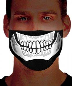 Maska zakrywająca usta i nos - Black Virus I