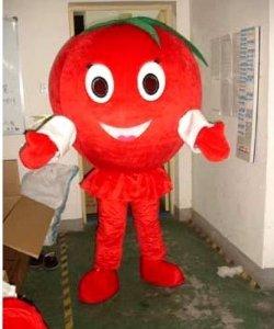 Strój reklamowy - Pani Pomidorowa