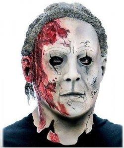 Maska lateksowa - Michael Myers z filmu Halloween 2