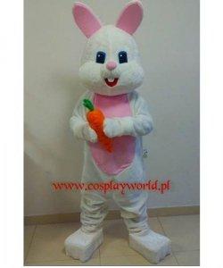 Strój reklamowy - Zając z marchewką