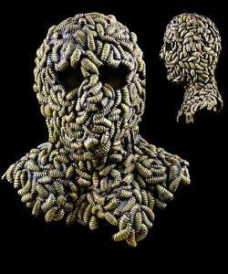 Maska lateksowa - Madman