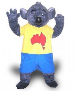 Strój chodzącej maskotki - Koala Podróżnik