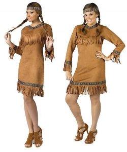 Kostium Karnawałowy - Indianka