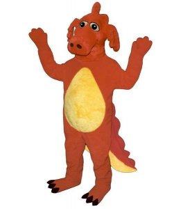 Strój chodzącej maskotki - Dinozaur