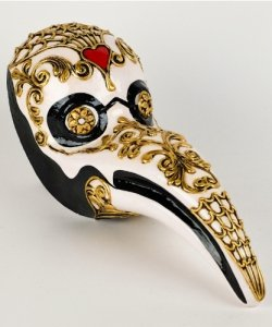 Maska wenecka - Nasto Peste Morte