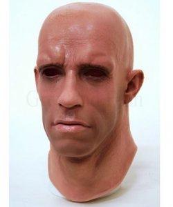 Maska lateksowa - Steelman