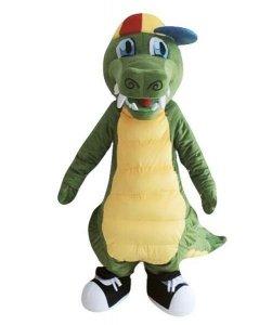 Strój chodzącej maskotki - Dino Hip