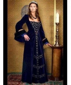 Kostium teatralny - Królowa Francji