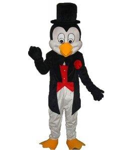 Strój chodzącej maskotki - Pingwin Elegant