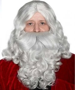 Pełny zarost - Święty Mikołaj Deluxe