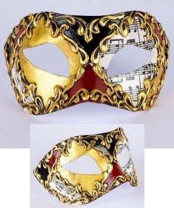 Maska wenecka - Colombina Musica